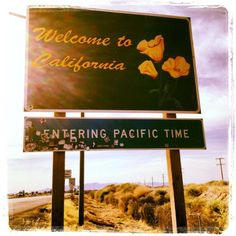 Entering Pacific Time