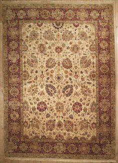 This beautiful Handmade Knotted Rectangular rug is approximately 10 x 14 New Contemporary area rug from our large collection of handmade area rugs with Indian style from India with Wool