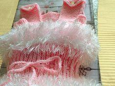 Baby Kleid mit Schuhen Baby Dress with Shoes Taufleid