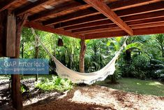 hammock under the pergola Outdoor Furniture, Outdoor Decor, Hammock, Brazil, Yard, Outdoor Structures, Architecture, Interior, Photography