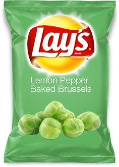 Lemon Pepper Baked Brussels - Vote for me!