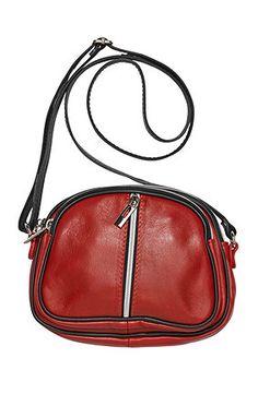 Echtes #Leder - #Tasche in Rot mit extra Zippfächern und überraschend viel Platz!! Get it here: Echtes, unglaublich weiches Leder. MustHave mit extra Zippfächern und überraschend viel Platz. http://www.studio-untold.com/?campaign=sm/pinterest