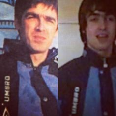 """@dreamerbydesign2 on Instagram: """"Same jacket 😉 . . #brothers #thegallaghers #noelgallagher #liamgallagher #oasis #thechief #rkid #legend"""""""