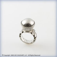 Old Tuareg African Silver Ring Amulet Talisman Mali | eBay
