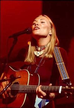 ~Joni Mitchell  in the Last Waltz singing Coyote. One of my favorite songs and love this movie.