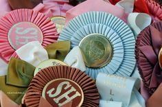 more vintage horse ribbons