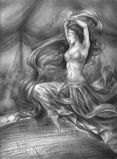 Nefertiti, a sua loja de Dança do Ventre