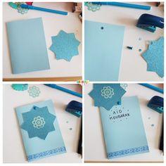Ramadan Cards, Ramadan Gifts, Ramadan Diy, Eid Gift, Eid Crafts, Diy And Crafts, Diy For Kids, Crafts For Kids, Ramadan Decorations