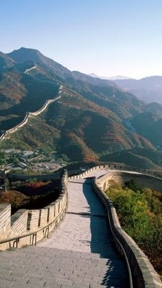 Great Wall of China . [ AlbertoFermaniUSA.com ] #beauty #fashion #style