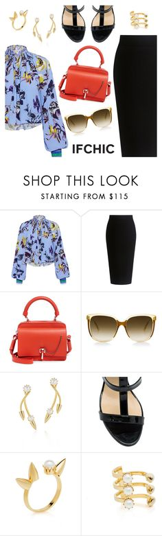 """""""Ifchic"""" by dressedbyrose ❤ liked on Polyvore featuring TIBI, Theory, Carven, Steven Alan, Joomi Lim, Dee Keller, ootd and polyvoreeditorial"""