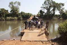Random photo of the day: Car ferry crossing over the River Gambia, in Kedougou, Senegal, West Africa. Taken whilst on the River Gambia Expedition - image © Jason Florio Well be presenting a slides...