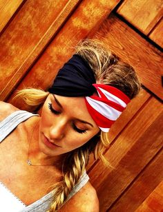 American Flag turban headband... can you DIY!?