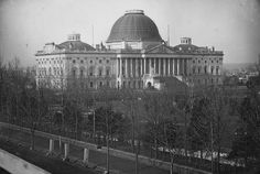 Images of the U.S. Capitol Dome from the 1860s when the current dome was originally built, some images of the recent restoration process, and a few shots of the newly-restored structure.