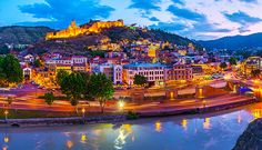 If You Are Planning For Mbbs In Abroad. Georgia Is The Best For Mbbs Study And In Georgia Tblisi State Medical University Is The Best University For Mbbs In Georgia. Great Places, Places To Go, Beautiful Places, Middle East Destinations, Parc A Theme, Phantom 4, Art Japonais, Voyage Europe, Beautiful Waterfalls