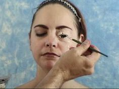 Special Effects Makeup: Gel-10 prosthetic application