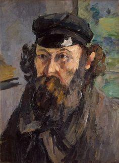 Cezanne  Self Portrait 1872