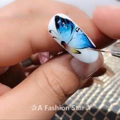 Art For Beginner ✰A Fashion Star✰ Nail Designs For Beginner - Nail Art For Beginner-Most girls want to have beautiful nails. For girls, having beautiful nails is a temperament.Nail Designs For Beginner - Nail Art For Beginner-Mo. Nail Art Designs Videos, Gel Nail Art Designs, Classy Nail Designs, Nail Design Video, Nail Art Videos, Beautiful Nail Designs, Beautiful Nail Art, Nail Art Hacks, Easy Nail Art
