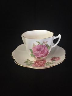 A personal favorite from my Etsy shop https://www.etsy.com/ca/listing/247195517/english-rose-teacup-bone-china-made-in