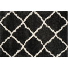Safavieh Belize Tribal Lattice Shag Rug,