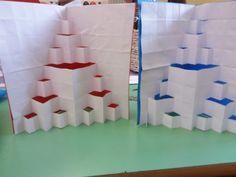 Biglietto pop-up Frattali Triangolo di Sierpinski   Il puzzle delle idee Pop Up, Puzzle, Curtains, Home Decor, Puzzles, Blinds, Decoration Home, Room Decor, Interior Design