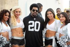 Ice Cube and the Raider Nay-Shun!!!