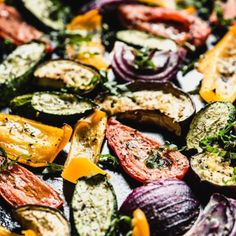 Roasted Mediterranean Veggies – Steph Gaudreau