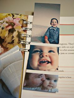 ThriftyGifty: How to make a 5 Minute Photo Bookmark