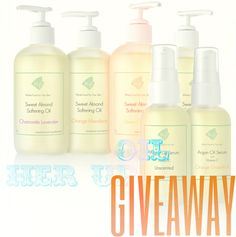 How about a Body Oil Giveaway? Enter for your chance to win!