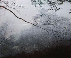 Elizabeth Magill(Irish, b.1959)Grayscale (2)   2005   oil on canvas   137 x 168 cm / 53.9 x 66.1 in  via