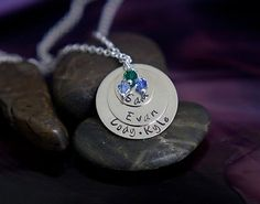 Stacked Mother's Day necklace