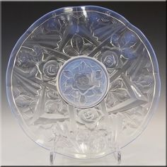 Jobling Art Deco Opaline/Opalescent Glass Tudor Rose Bowl £99.99