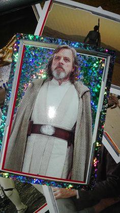 Luke Skywalker Topps card