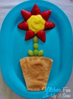Flower Lunch...so easy to make and so cute!