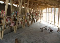 Small Project of the Year 2014 award goes to a community library