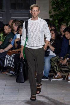 Hermes Spring/Summer 2016 Menswear Collection