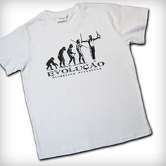Camiseta Branca Evolução GA Cristo