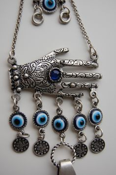 hamsa wall hangings | Lapis Hamsa Hand Wall Hanging Amulet Handmade Turkish Silver Plated ... Maybe you could make this out of shrink plastic