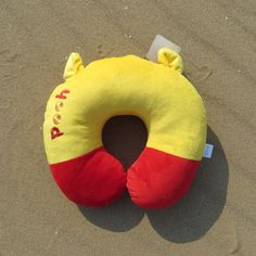 Disney winnie the pooh bear U neck pillow car cushion new