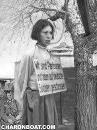 Hanging was always preferred by Nazi for young girls who were viewed as terrorists by the Germans