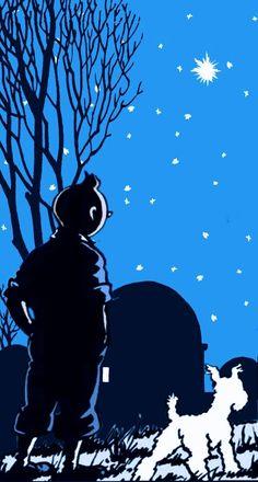 Tintin and Snowy Comic Kunst, Comic Art, Comic Books, Tin Tin Cartoon, Herge Tintin, Ligne Claire, Wire Fox Terrier, Bd Comics, Fiction