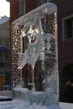 Poznań ( Poland ) - Stary Rynek ( Old Market) - 7 Festiwal Rzeźby Lodowej 2012 - 7th International Ice Sculpture Festival