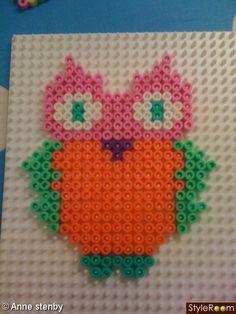 sandylandya.Ugle - Owl hama perler by HejAnne