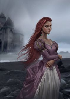 Ariel – Little Mermaid by Tarivanima on DeviantArt - Disney princess Disney Princess Drawings, Disney Princess Art, Disney Fan Art, Disney Drawings, Princess Luna, Zombie Princess, Flame Princess, Princess Rapunzel, Princess Aurora