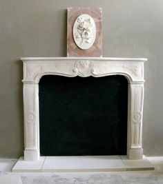 french fireplace - Google Search