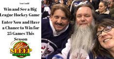 I just entered a draw to see a big-league hockey game here in Winnipeg! One entry and you are eligible to win 1 of 25 different games this season, You should enter too, right here! Hockey Games, Different Games, Good Sleep, Giveaways, Centre, Draw, Cheese, Seasons, Wine