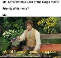 "28 Lord Of The Rings Memes For The Tolkien-Obsessed - Funny memes that ""GET IT"" and want you to too. Get the latest funniest memes and keep up what is going on in the meme-o-sphere. Funny Memes, Hilarious, Funniest Memes, Funny Captions, Stupid Memes, Funny Quotes, O Hobbit, Into The West, History Memes"