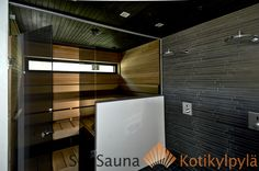Saunagalleria I SUN SAUNA Oy I Ideoita saunaremonttiin, saunaideat Saunas, Home Spa, Blinds, Curtains, Home Decor, Roller Shutters, Insulated Curtains, Decoration Home, Steam Room