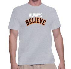 Always Believe T-Shirt Kansas City Royals Playoffs October Baseball Tee New #Unbranded #PersonalizedTee