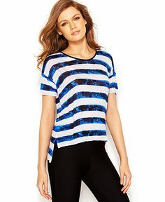#kensie striped top