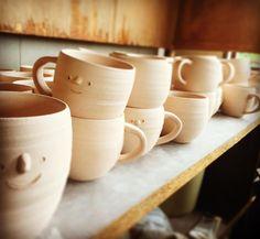 #pottery  #かぷお #cup #ぷろぺら商店 #cupboy #素焼き #ceramics
